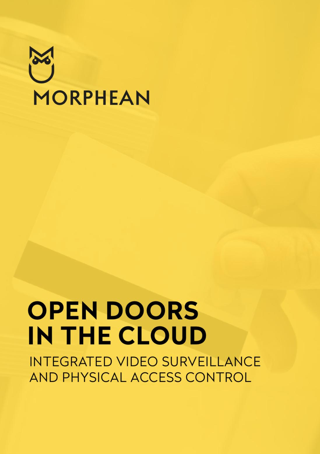 Download Access Control Brochure  - Morphean